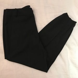 Like New Helmut Lang Black Wool Cropped Pants Sz 6